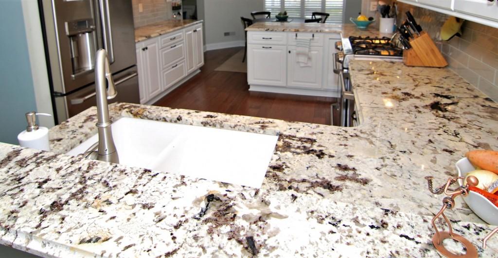 Alaska White Granite at LakeHouse