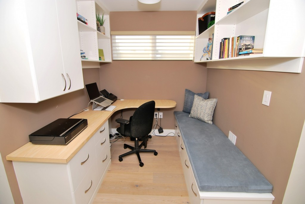 Urban Loft Custom Built-in Desk | Philadelphia PA | Distinctive Interior Designs LLC