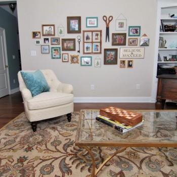 Lake House Living Area Collage| Marlton NJ | Distinctive Interior Designs