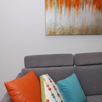 Abstract Art Autumn Waves 35313 | Philadelphia PA | Distinctive Interior Designs LLC