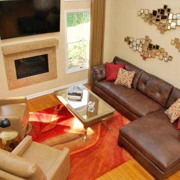 Braddington Young Leather | Princeton NJ | Distinctive Interior Designs