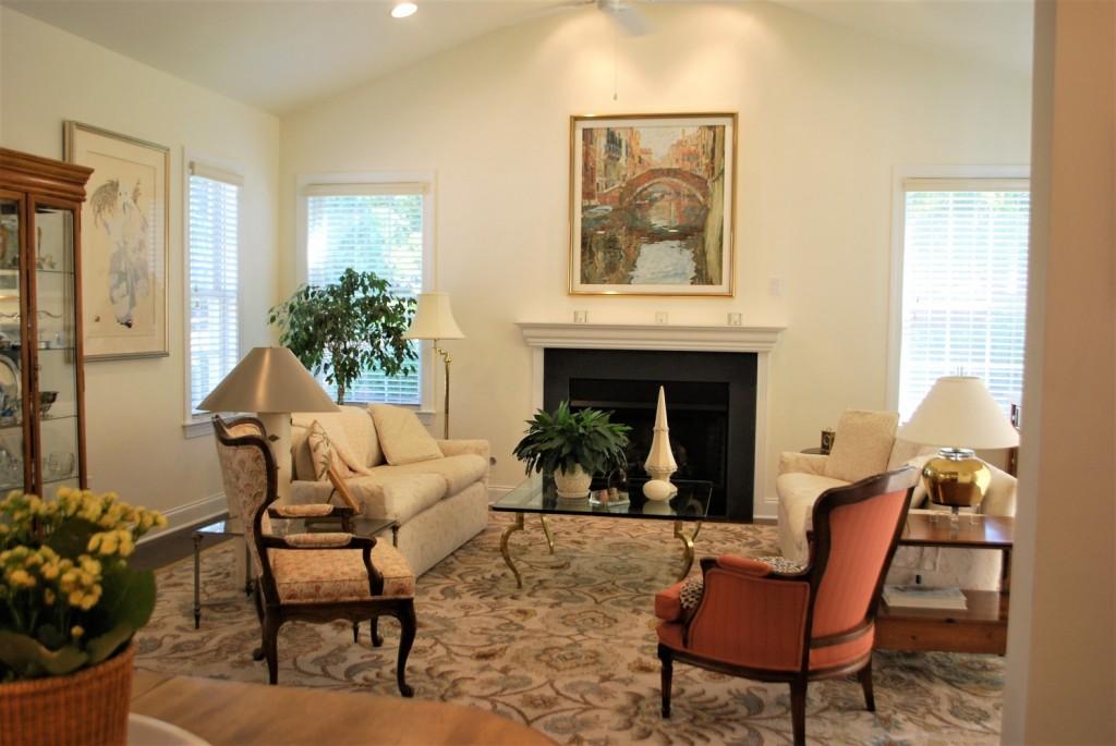 Traditional living room surya