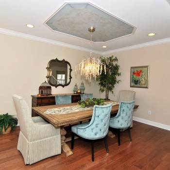 Lake House Dining Room | Marlton NJ | Distinctive Interior Designs
