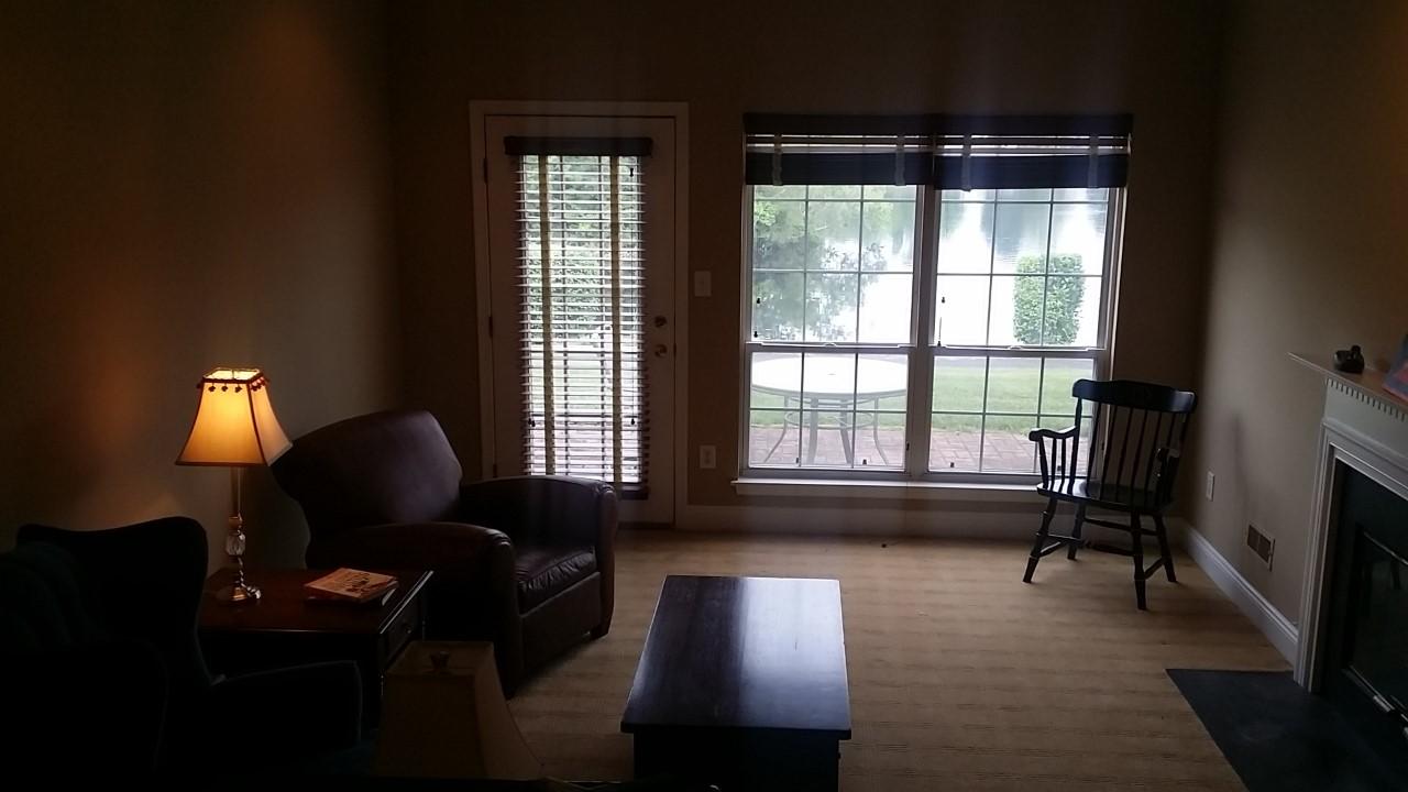 Lake House Family Room Before | Marlton NJ | Distinctive Interior Designs