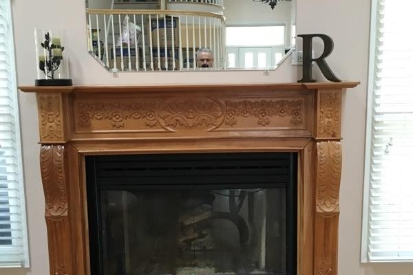 Fireplace Redesign | Princeton NJ | Distinctive Interior Designs