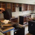 Black Cabinet Kitchen | Pennington NJ | Distinctive Interior Designs