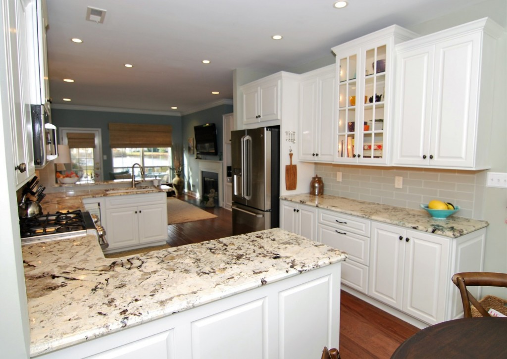 Kitchen from dinette area