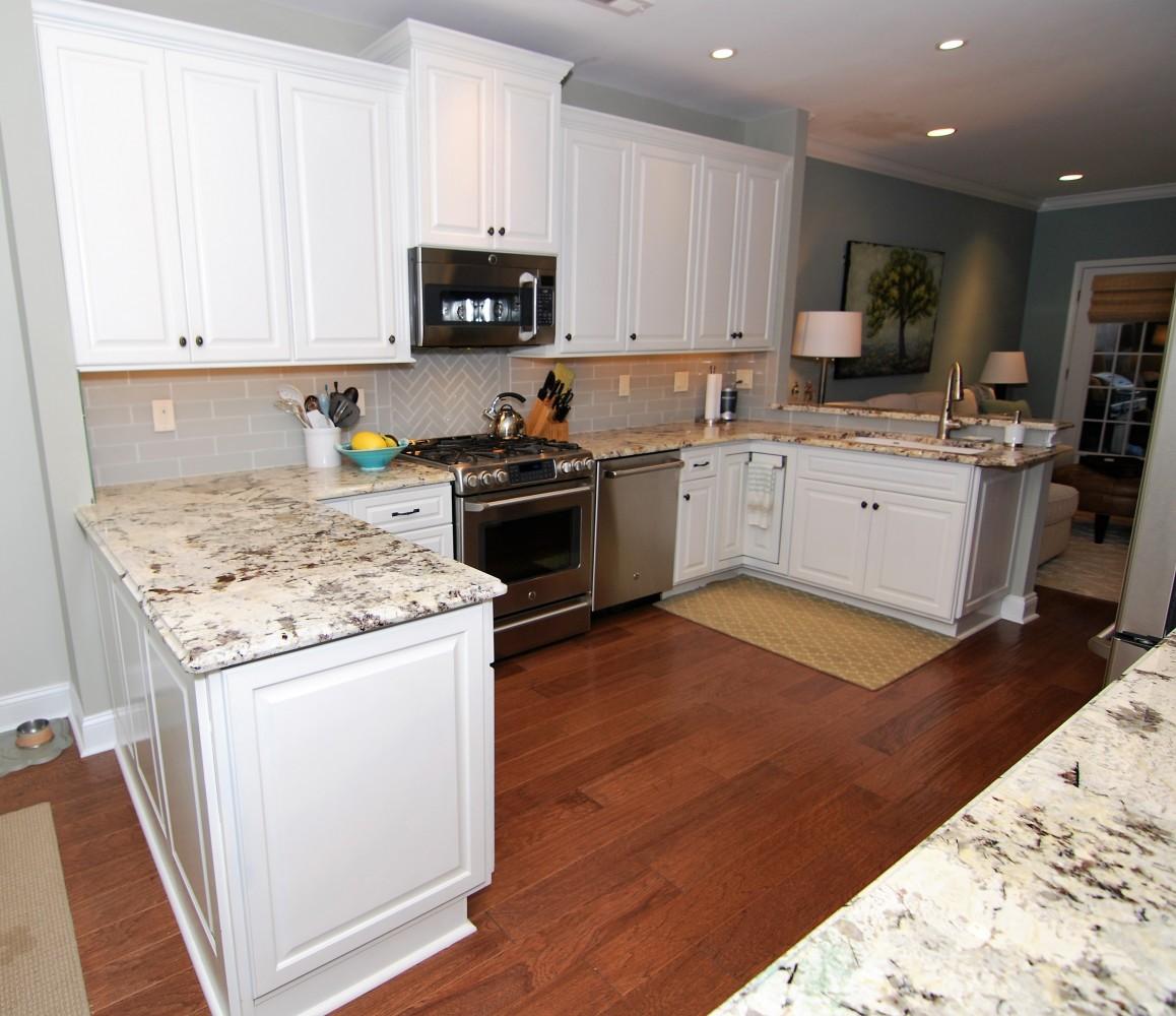 Lake House Kitchen After | Marlton NJ | Distinctive Interior Designs
