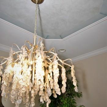 Lake House Dining Chandelier | Marlton NJ | Distinctive Interior Designs