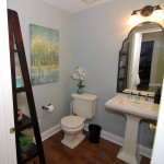 Lake House Powder Room After | Marlton NJ | Distinctive Interior Designs