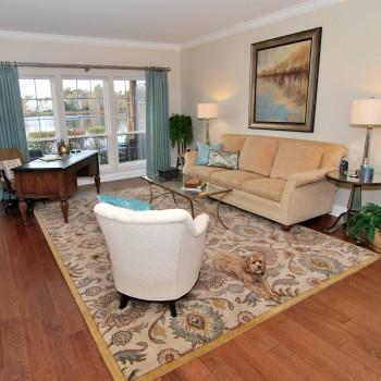 Lake House Living Room | Marlton NJ | Distinctive Interior Design