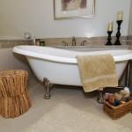 Lake House Claw Foot Tub | Marlton NJ | Distinctive Interior Designs