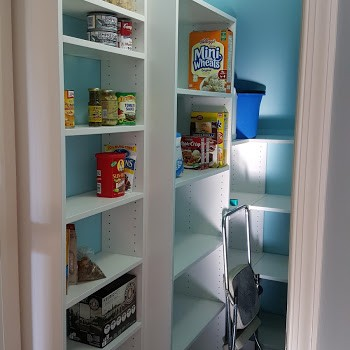 Tiffany Blue Custom Pantry | Marlton NJ | Distinctive Interior Designs