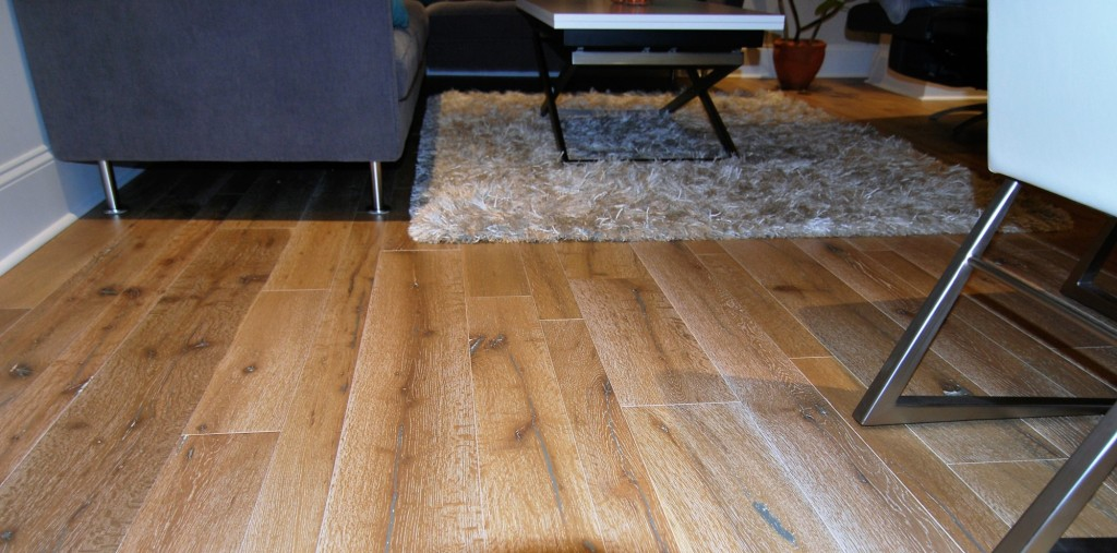 Big Sur Flooring Urban Condo | Philadelphia PA | Distinctive Interior Designs