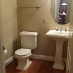 Lake House Powder Room Before | Marlton NJ | Distinctive Interior Designs