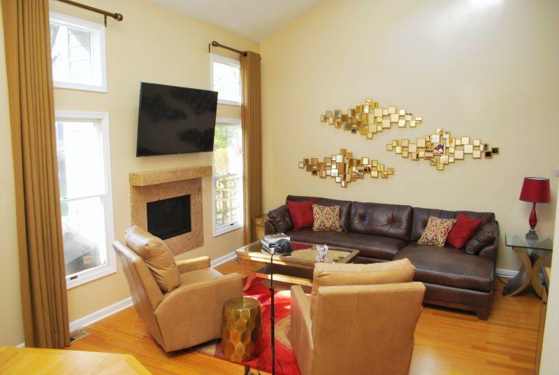 Contemporary Living room Redesign