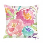 Inspiration Splashy Abstract Floral Pillow | Monroe NJ | Distinctive Interior Designs