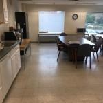 Staff Lounge and Kitchen Before Redesign | Cherry Hill NJ | Distinctive Interior Designs