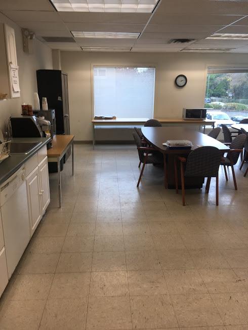 Staff kitchen old look