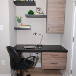Urban Loft Custom Built-in Desk | Philadelphia PA | Distinctive Interior Designs LLC
