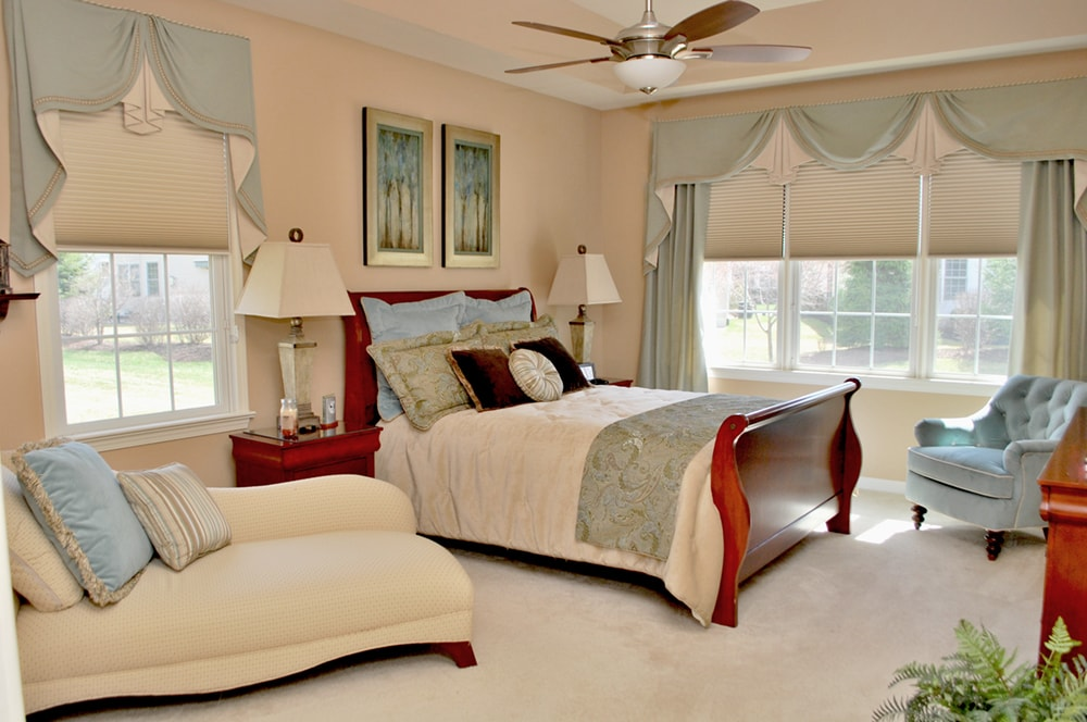 Master Bedroom By Interior Design Firm Distinctive Designs In South Jersey And Philadelphia