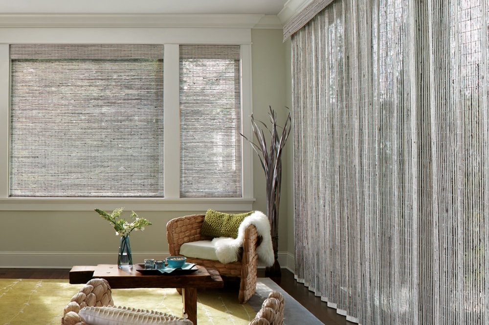Blinds and shutter by full service interior design firm in NJ and Philadelphia Distinctive Interior Designs