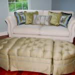 Custom built storage ottoman by top NJ full service interior design firm Distinctive Interior Designs