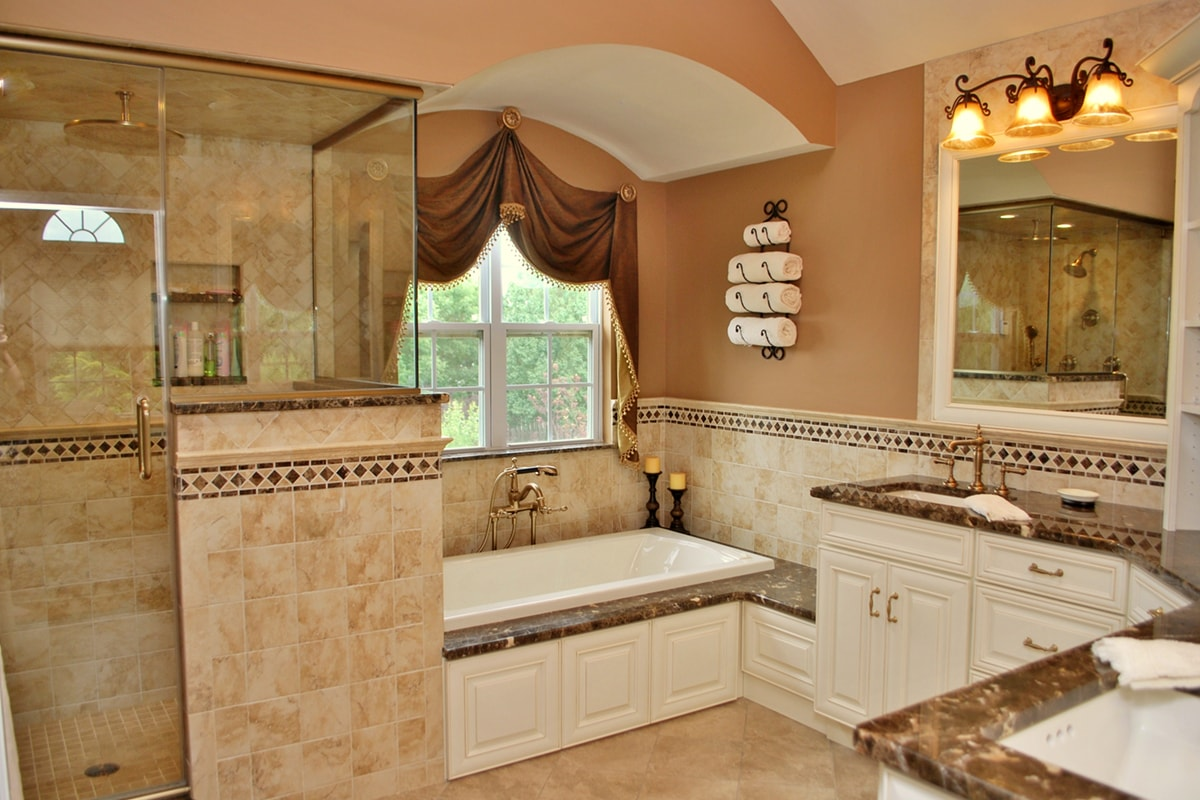 Master Bathroom Spa | Distinctive Interior Designs