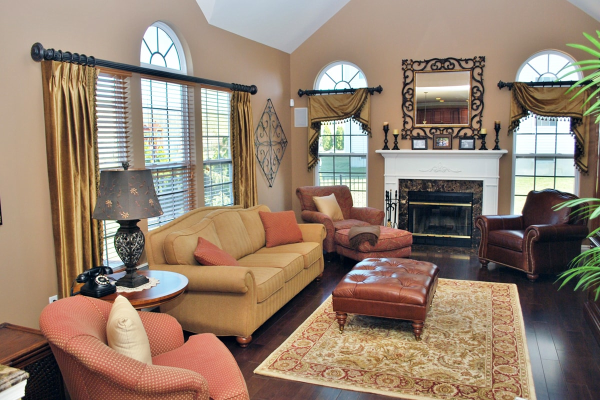 Family Room| Marlton NJ | Distinctive Interior Designs