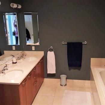 Condo Master Bath Before | Philadelphia PA | Distinctive Interior Designs LLC