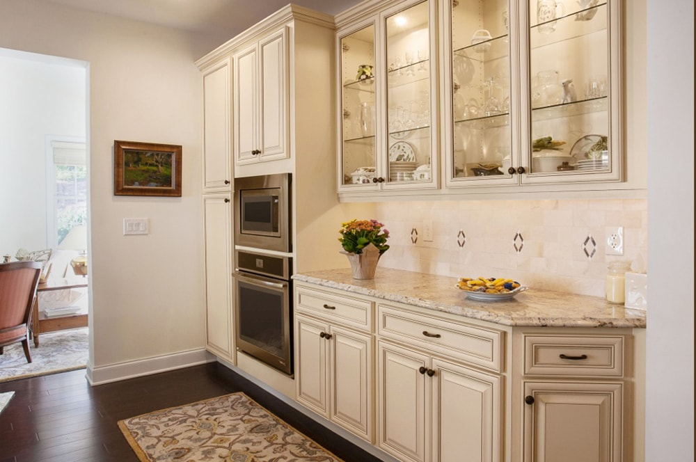 Kitchen renovation project by NJ full service interior designer Distinctive Interior Designs