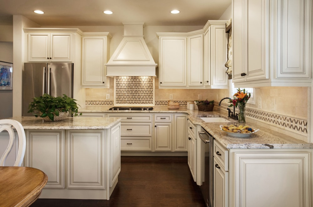 Kitchen renovation project by award winning NJ interior designer Distinctive Interior Designs