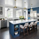 Houzz Navy White Kitchen Inspiration | Haddon Heights NJ | Distinctive Interior Designs