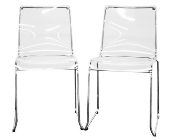 Lucite chairs | Haddon Heights, NJ | Distinctive Interior Designs