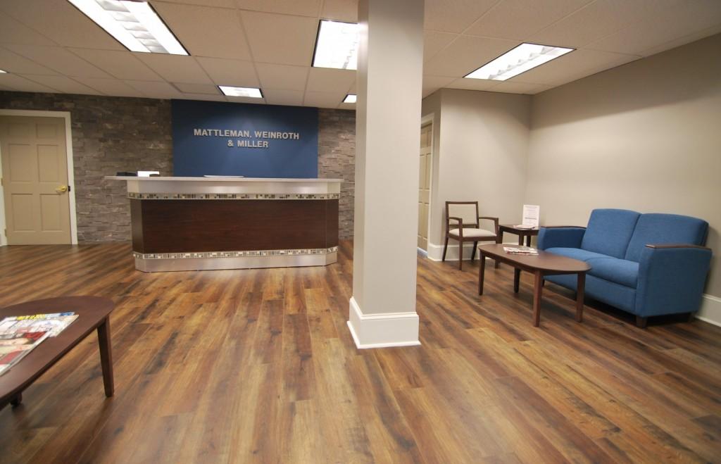 New Reception Area Mattleman Weinroth & Miller