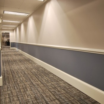 Law Firm Hallway Design | Cherry Hill, NJ | Distinctive Interior Designs