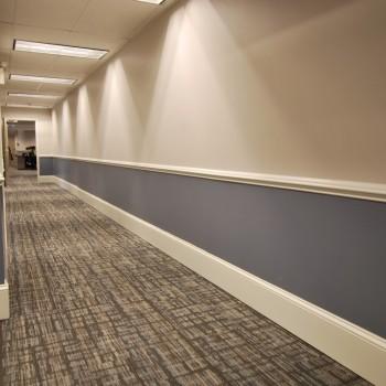 Law Firm Hallway Design | Cherry Hill, NJ | Distinctive Interior Designs