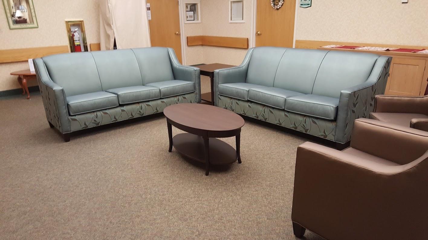 Commercial Seating Pleather | Highland Park, NJ | Distinctive Interior Designs