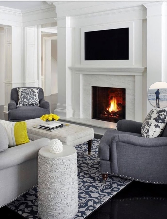 Beautiful fireplace design | Cranbury NJ | Distinctive Interior Designs