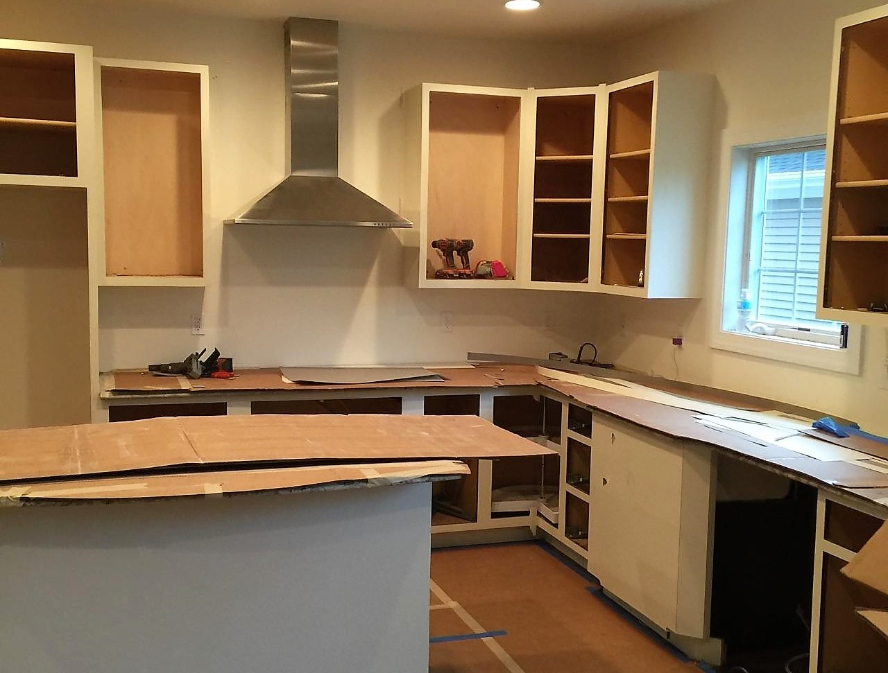 Refacing Kitchen cabinets | Skillman NJ | Distinctive Interior Designs