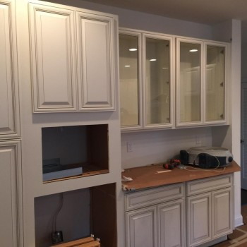 Kitchen renovation project NJ interior design firm Distinctive Interior Designs