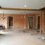 Knocking out walls redesign | Cranbury NJ | Distinctive Interior Designs