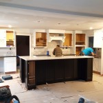 Kitchen project in process full service NJ interior design firm Distinctive Interior Designs