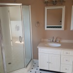 Master bathroom before photo Distinctive Interior Designs NJ interior design firm