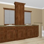 Master Bath double sink vanity Distinctive Interior Designs NJ interior designer