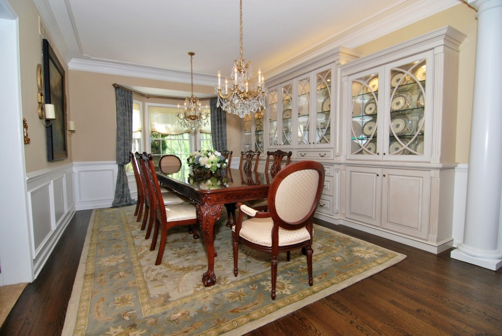 Gorgeous built in for dining room