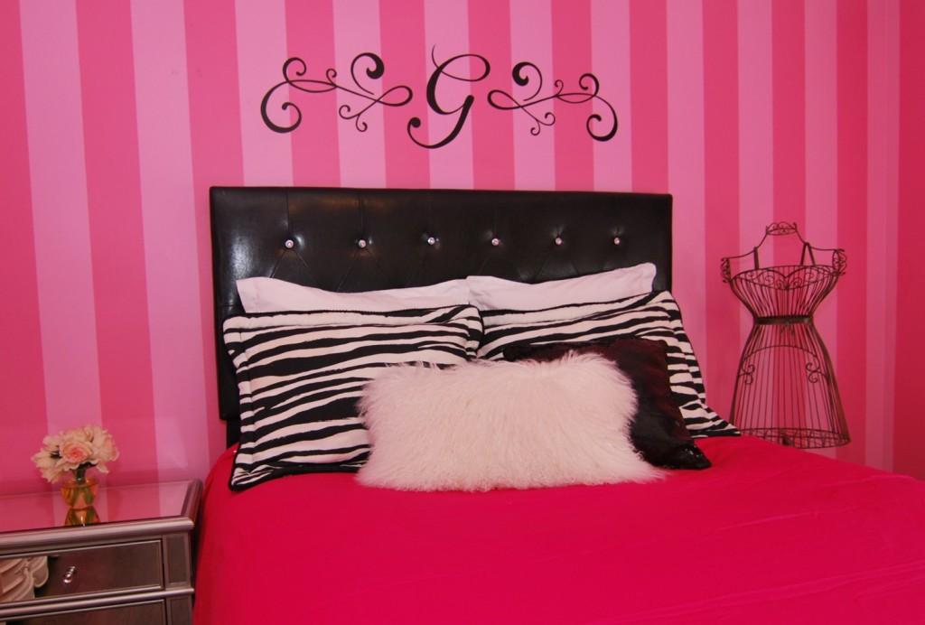 Victoria Secret teen Room | Montgomery NJ | Distinctive Interior Designs