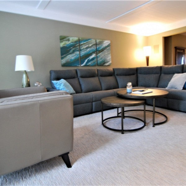 Grey Sectional Nesting Tables | Cherry Hill NJ | Distinctive Interior Designs