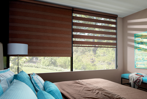 Banded Roller Shades