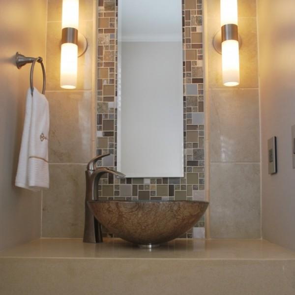Asian Style Bathroom | Lawrenceville NJ | Distinctive Interior Designs